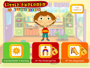 Little Explorer in Kindergarten!